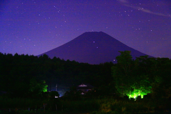 令和元年9月の富士(27)忍野村夜の富士_e0344396_20405395.jpg