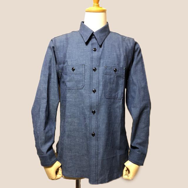 Dapper\'s  LOT1339 Triple-Stitched Ventilation Work Shirts|_c0144020_17245450.jpg