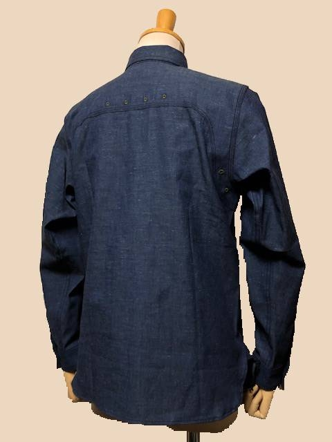 Dapper\'s  LOT1339 Triple-Stitched Ventilation Work Shirts|_c0144020_17250149.jpg
