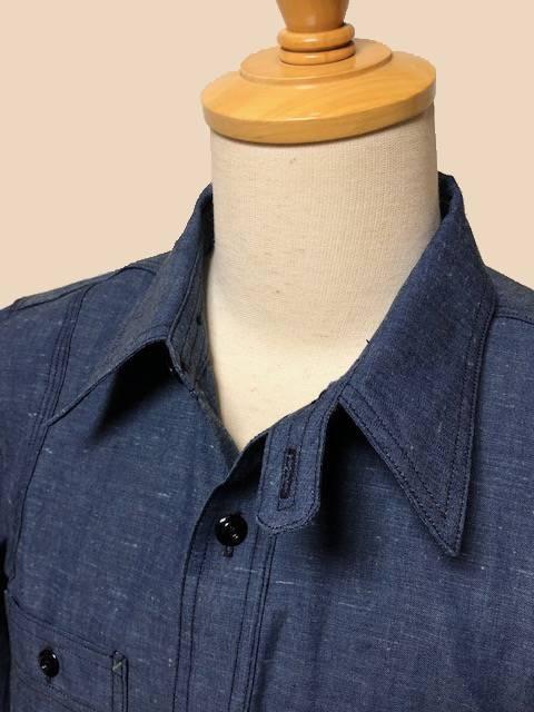 Dapper\'s  LOT1339 Triple-Stitched Ventilation Work Shirts|_c0144020_17250322.jpg