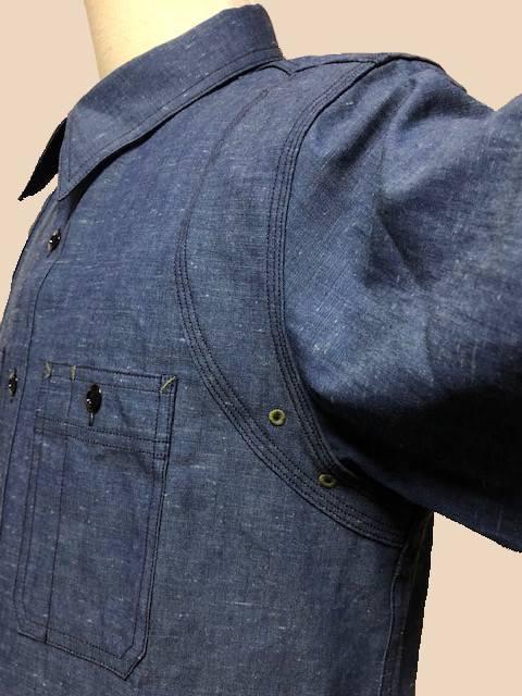 Dapper\'s  LOT1339 Triple-Stitched Ventilation Work Shirts|_c0144020_17250776.jpg