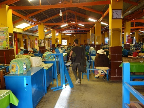 コパカバーナのメルカド食堂街でSAJTA DE POJJO (サクタ・デ・ポジョ)_c0030645_09494274.jpg