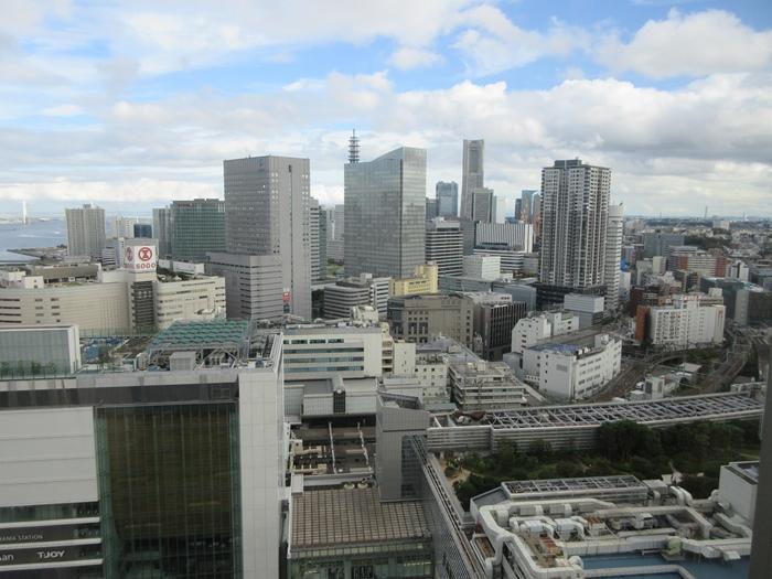 【おやつタイムのクラブラウンジ】横浜ベイシェラトン_b0009849_21463686.jpg