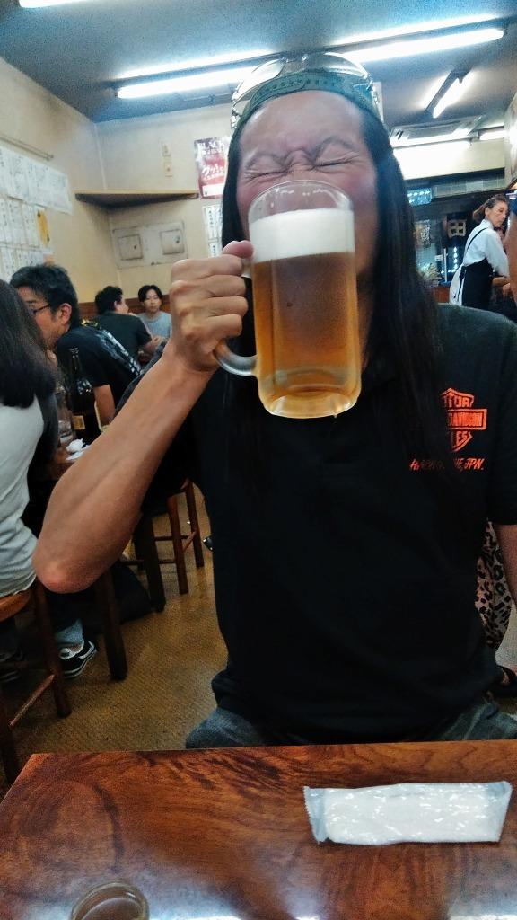 令和元年6回目 ビアガーデン池袋西武屋上 恵比寿氏と!_d0061678_11155799.jpg