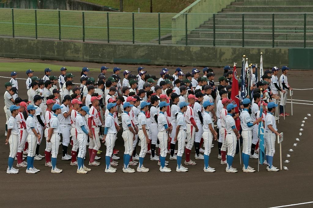 第15回京丹後ボーイズ親善試合 開会式_a0170082_16573140.jpg