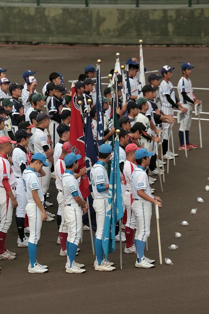 第15回京丹後ボーイズ親善試合 開会式_a0170082_16573579.jpg