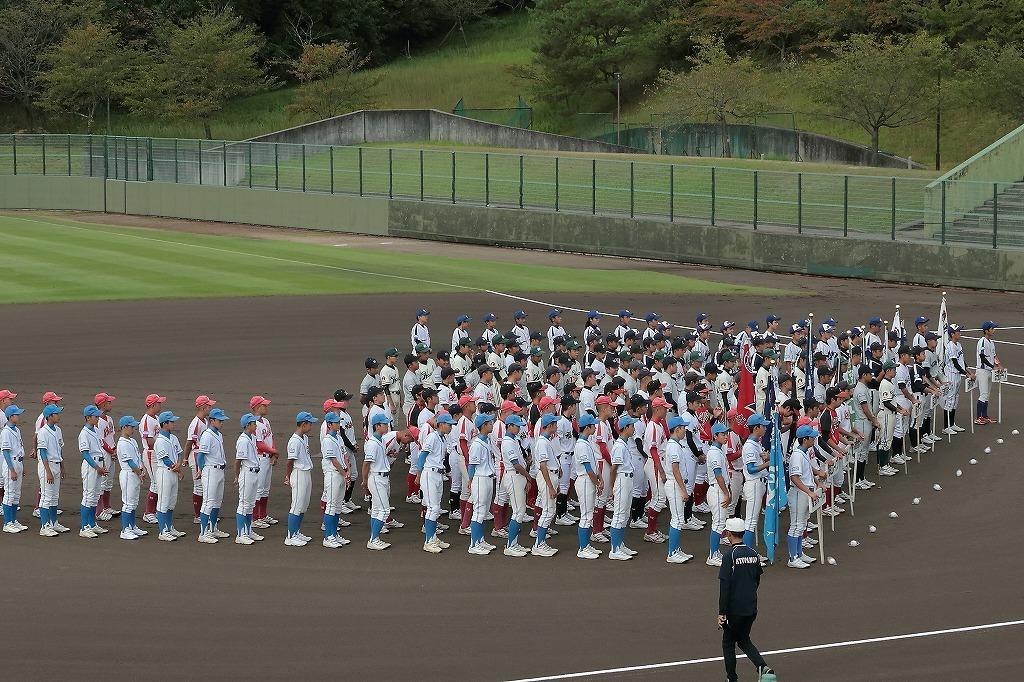 第15回京丹後ボーイズ親善試合 開会式_a0170082_16573790.jpg
