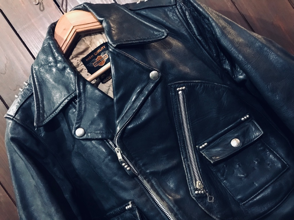 マグネッツ神戸店 10/2(水)冬Vintage入荷! #1 MotorCycle Jacket+Mohair Knit!!!_c0078587_17363469.jpg