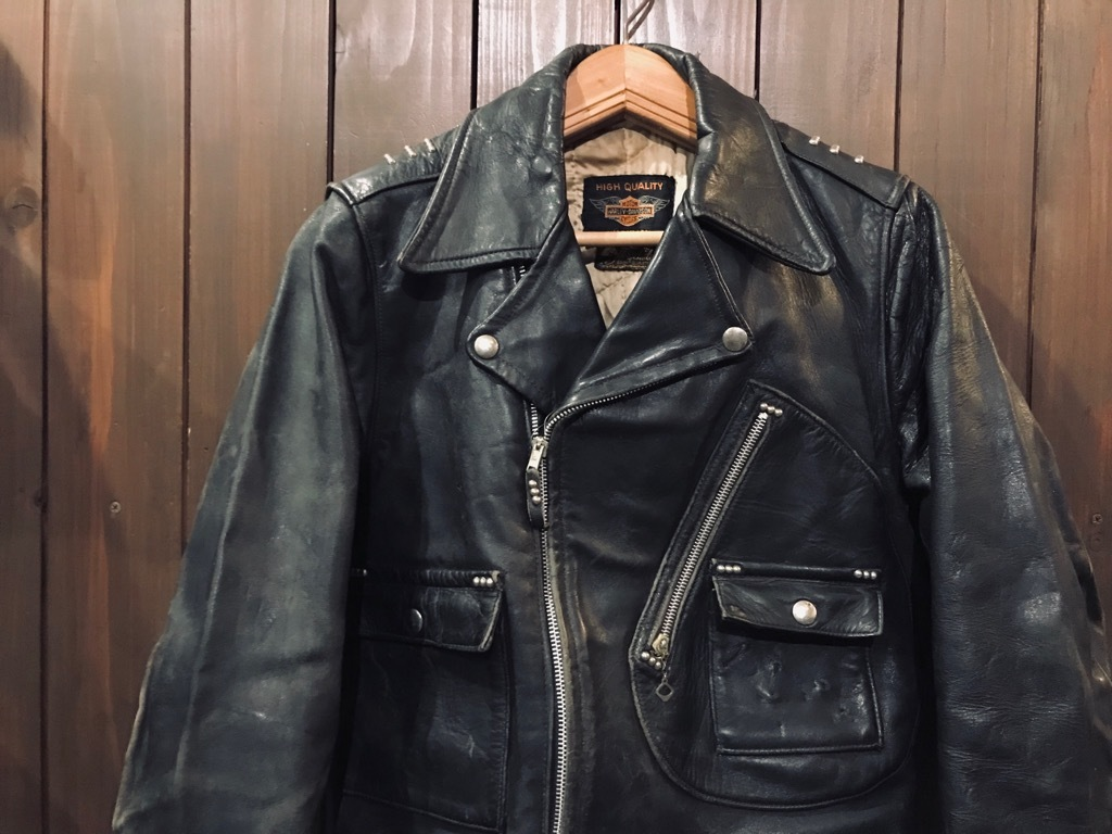 マグネッツ神戸店 10/2(水)冬Vintage入荷! #1 MotorCycle Jacket+Mohair Knit!!!_c0078587_17370003.jpg