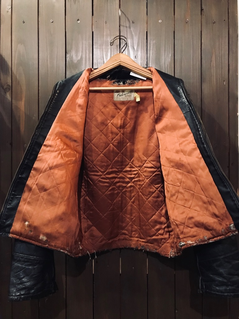 マグネッツ神戸店 10/2(水)冬Vintage入荷! #1 MotorCycle Jacket+Mohair Knit!!!_c0078587_17590251.jpg