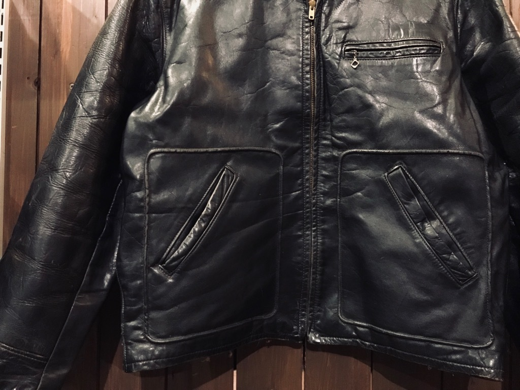 マグネッツ神戸店 10/2(水)冬Vintage入荷! #1 MotorCycle Jacket+Mohair Knit!!!_c0078587_17590487.jpg