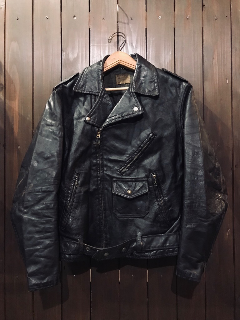 マグネッツ神戸店 10/2(水)冬Vintage入荷! #1 MotorCycle Jacket+Mohair Knit!!!_c0078587_18015194.jpg