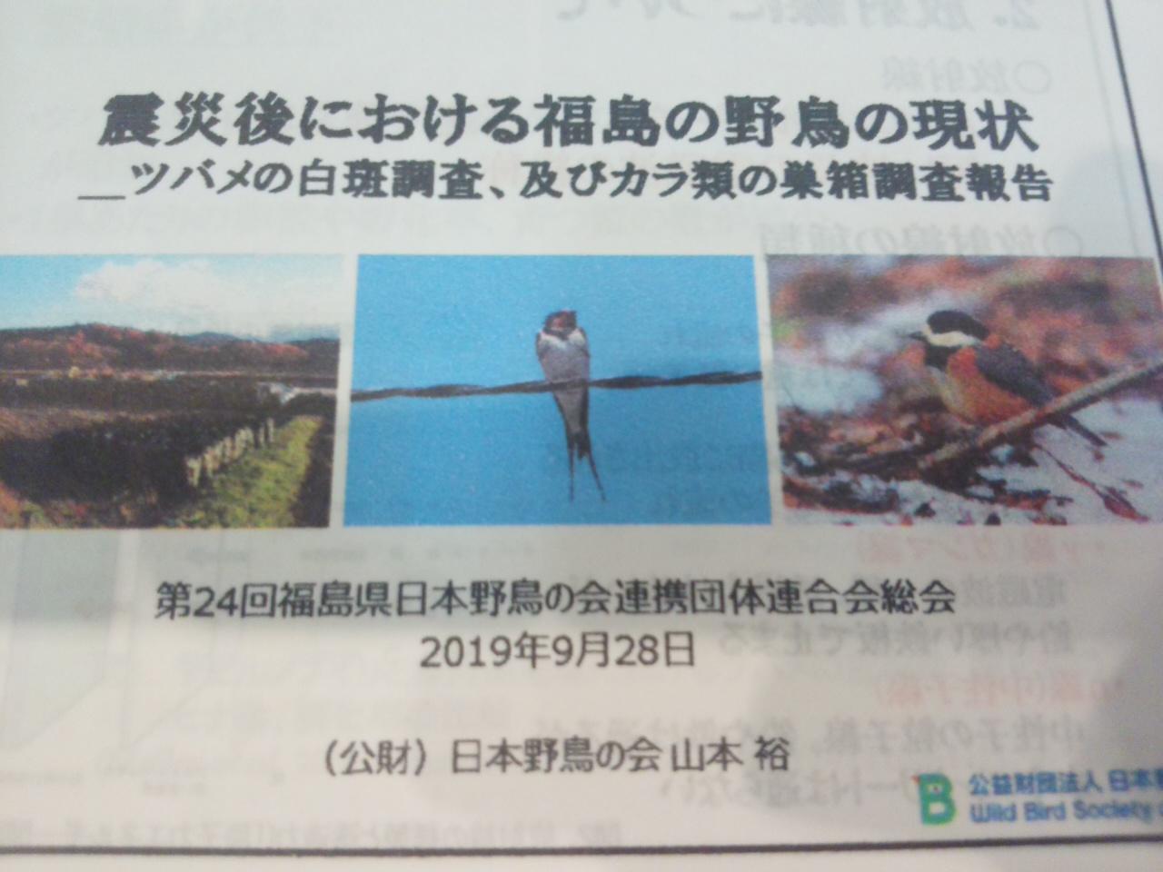 福島県日本野鳥の会連合会総会_e0068696_739389.jpg