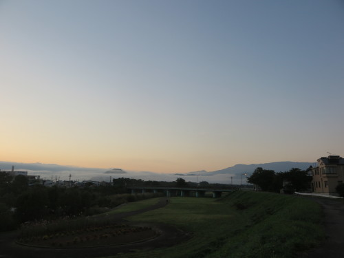 朝の散歩、2019.9.30_c0075701_10043194.jpg