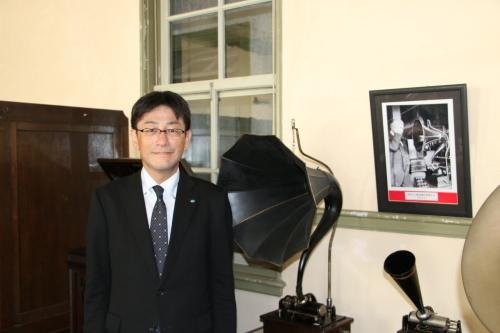 河北新報社 部長 渡辺 久志様が重文本館をご見学_c0075701_13135726.jpg