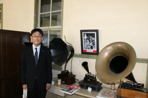 河北新報社 部長 渡辺 久志様が重文本館をご見学_c0075701_13140469.jpg