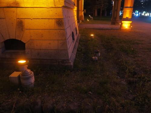 ライトアップ投光器の修理確認_c0075701_19505242.jpg