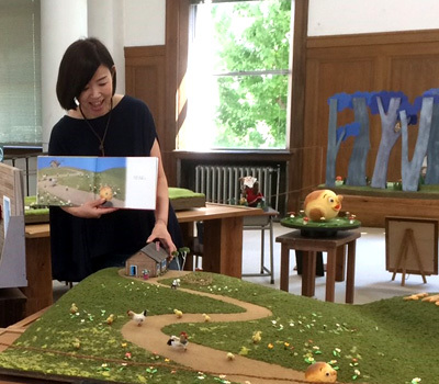 まんまるパン 〜 Yoko-Bonの世界展 〜』この秋 田原本町立図書館にて開催します!_d0077603_10575364.jpg