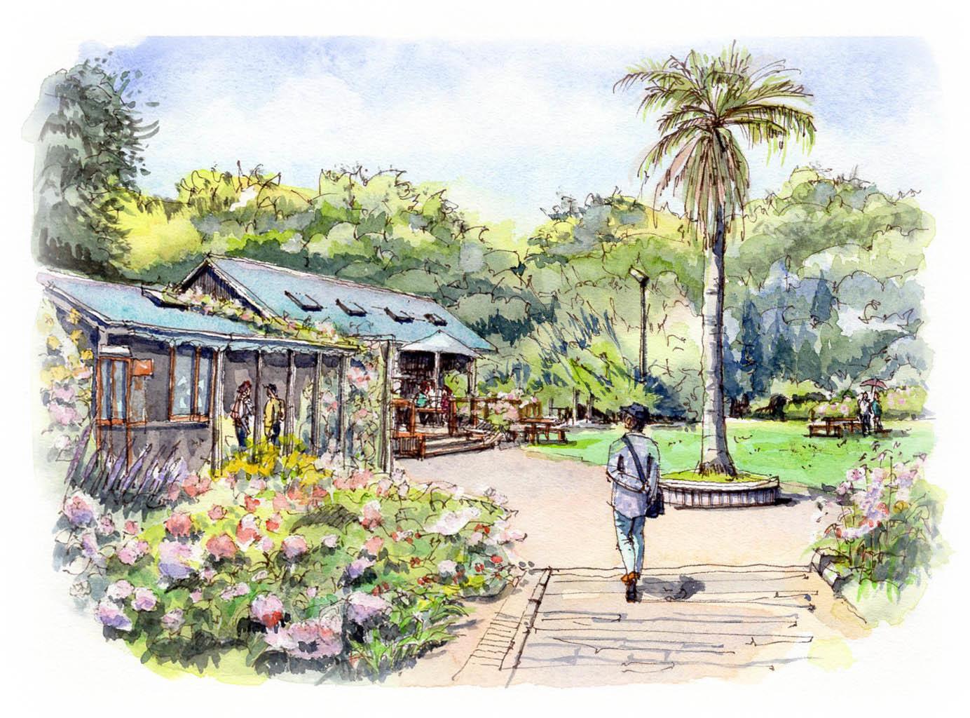JSAA日本スケッチ画会、出展作品です。_f0054715_17343203.jpg
