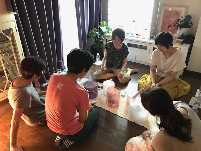新月~クリスタルボウル音浴瞑想会~_d0085018_12572852.jpg
