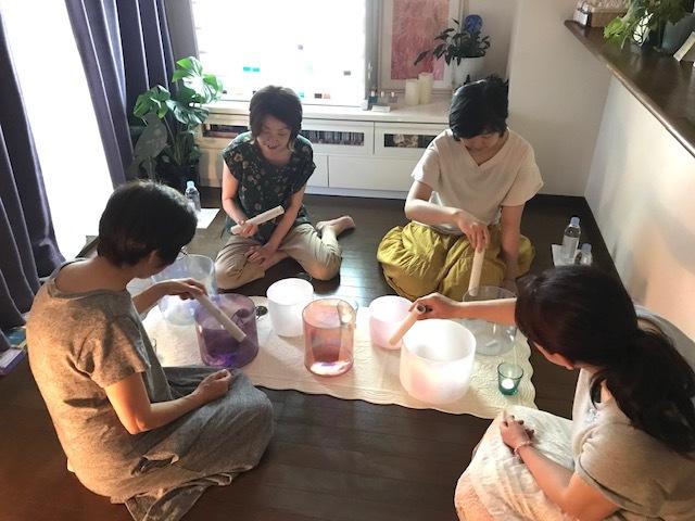 新月~クリスタルボウル音浴瞑想会~_d0085018_12573790.jpg
