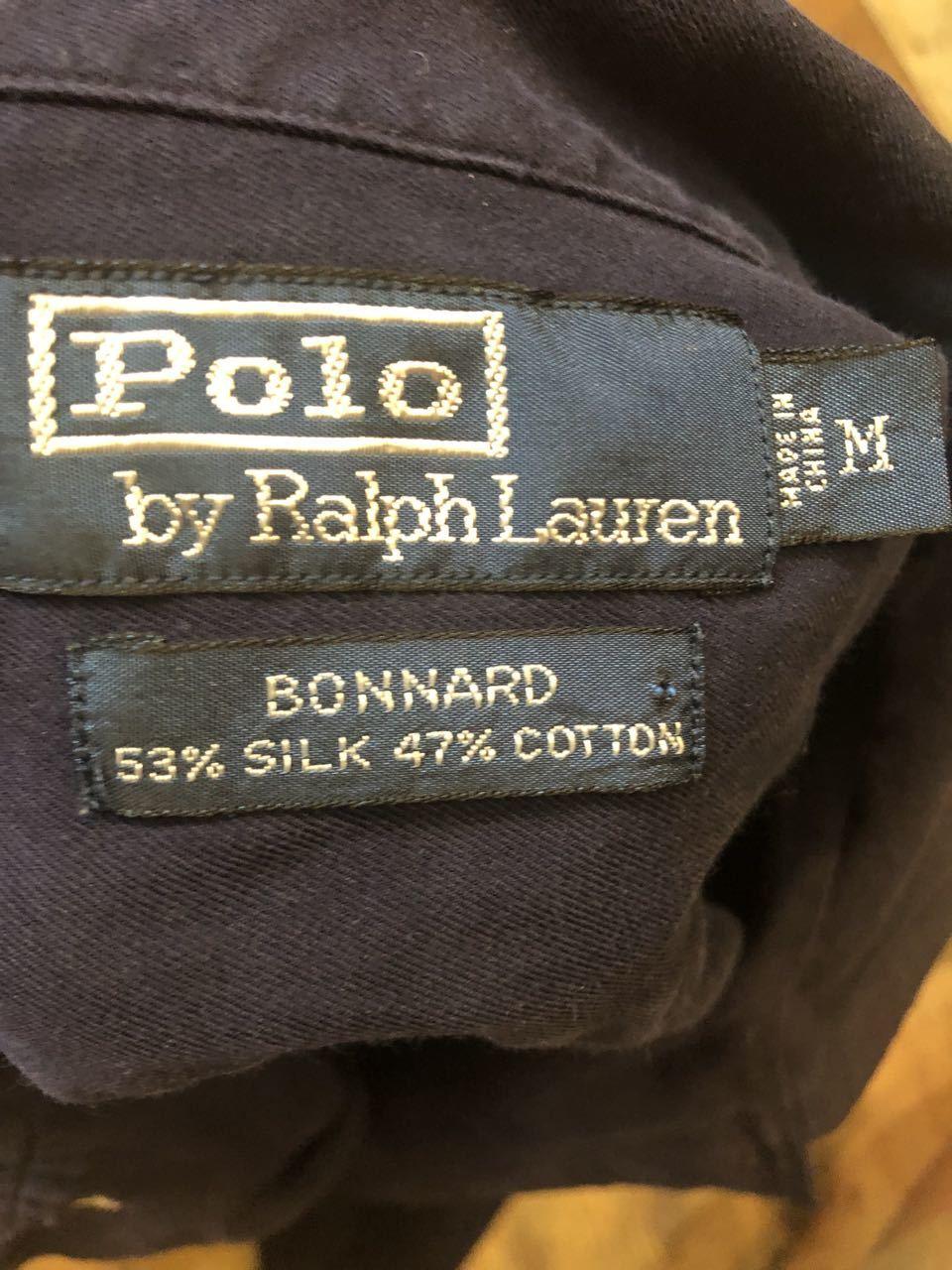 9月30日(月)入荷! 90s〜POLO RALPH LAUREN ラルフローレン SILK&COTTON シャツ!_c0144020_13454653.jpg