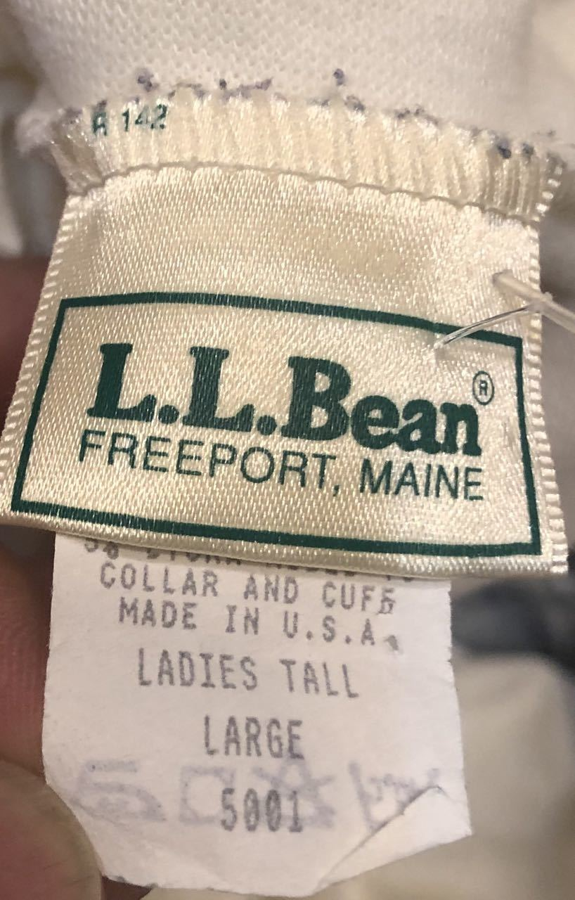 9月30日(月)入荷! Made in U.S.A コットン タートルネック L.L Beanなど!_c0144020_13473990.jpg