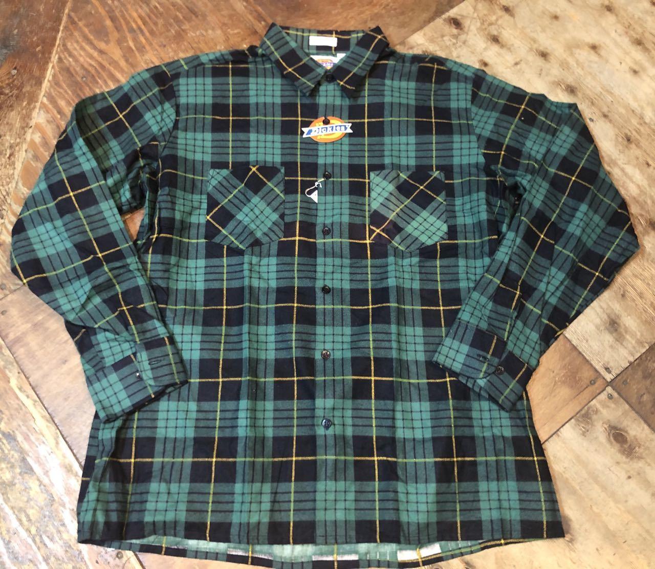 90s デッドストック Made in U.S.A  デッキーズ ネルシャツ!_c0144020_13503375.jpg