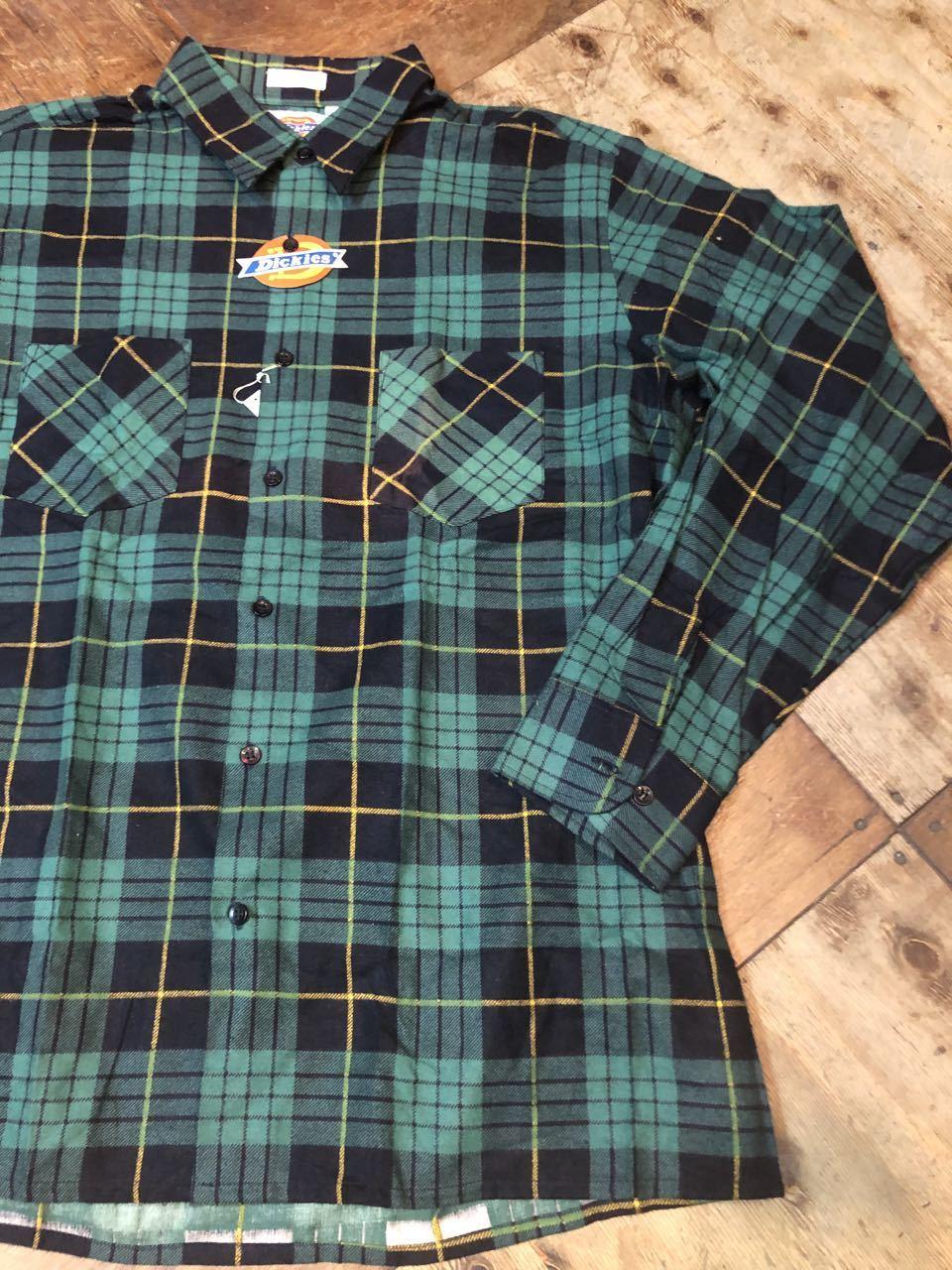 90s デッドストック Made in U.S.A  デッキーズ ネルシャツ!_c0144020_13505067.jpg