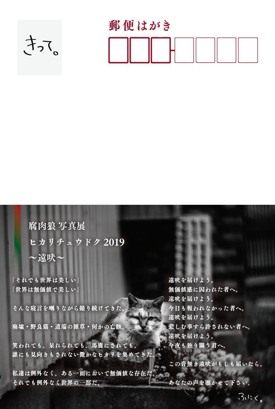腐肉狼 写真展 ヒカリチュウドク2019 〜遠吠〜_c0002222_17162954.jpg