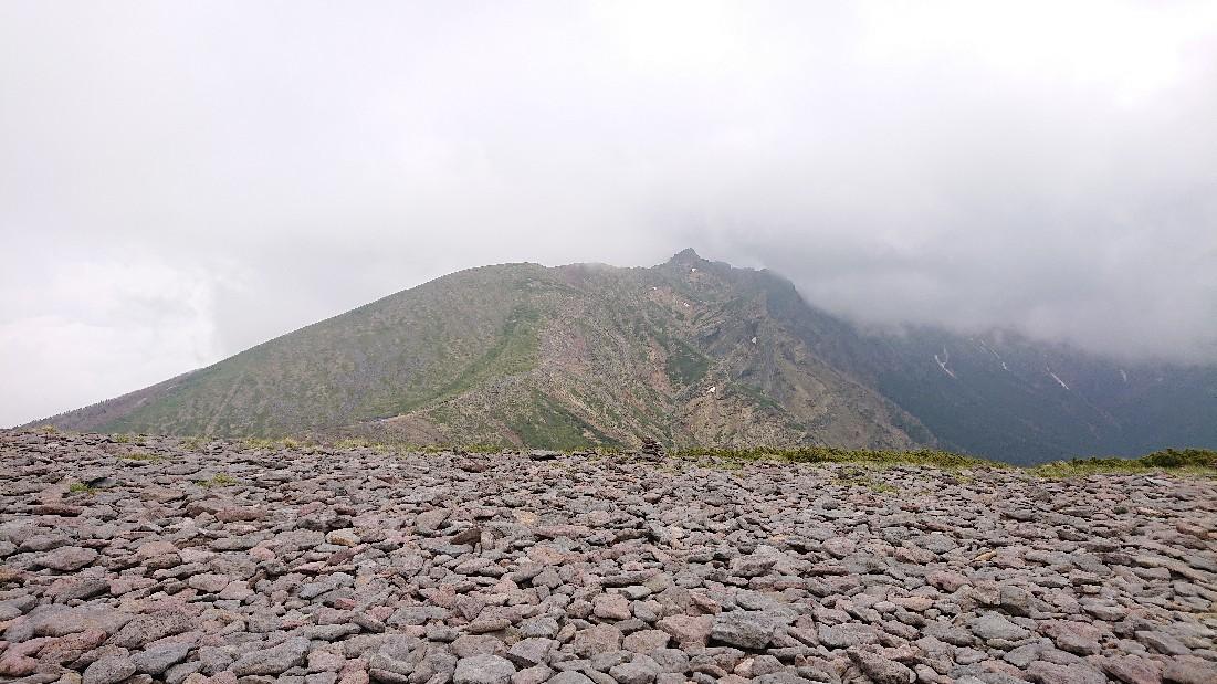 硫黄岳 2019,6,23~24_f0100825_22180114.jpg