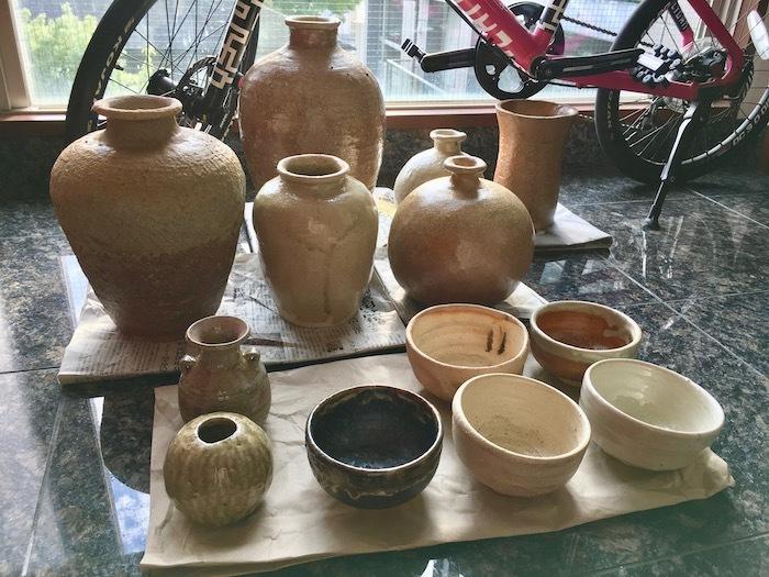 山添村の登り窯、窯出しです_e0359436_08175295.jpg