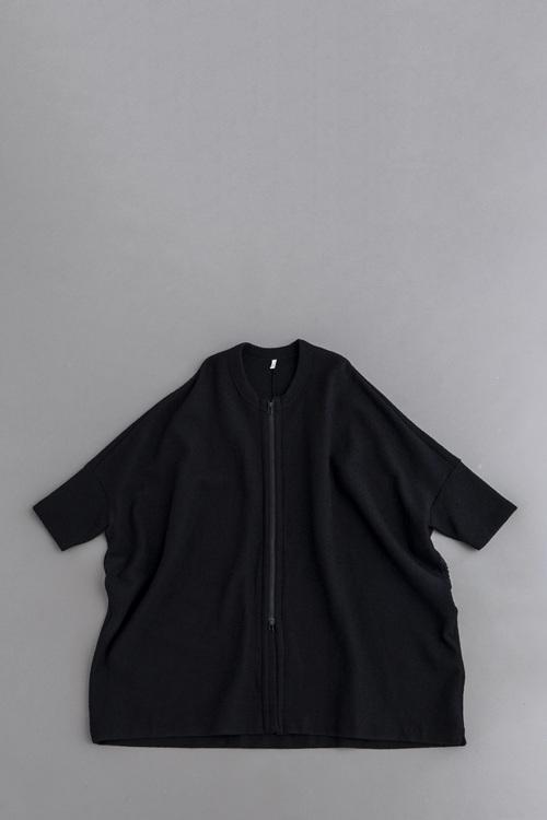 FIRMUM Inray Stitch Knit Wide Zip Coat (Navy)_d0120442_130364.jpg