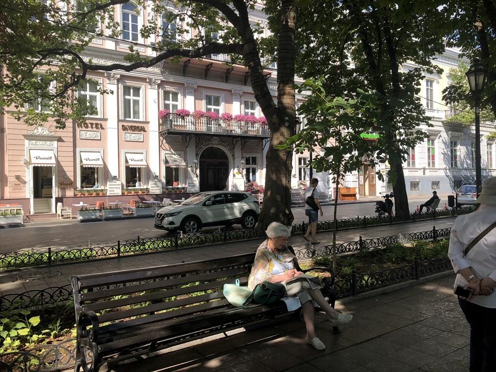 ポチョムキンの階段@オデッサ/ウクライナ_a0092659_13545136.jpg