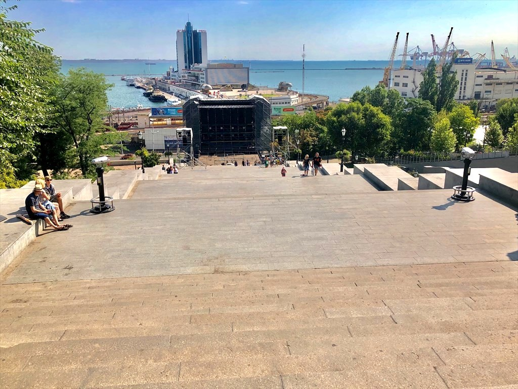 ポチョムキンの階段@オデッサ/ウクライナ_a0092659_16331479.jpg