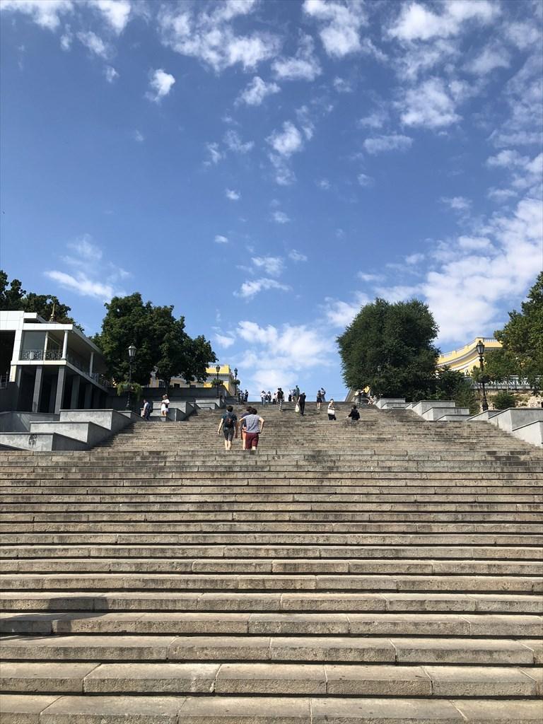 ポチョムキンの階段@オデッサ/ウクライナ_a0092659_16352097.jpg