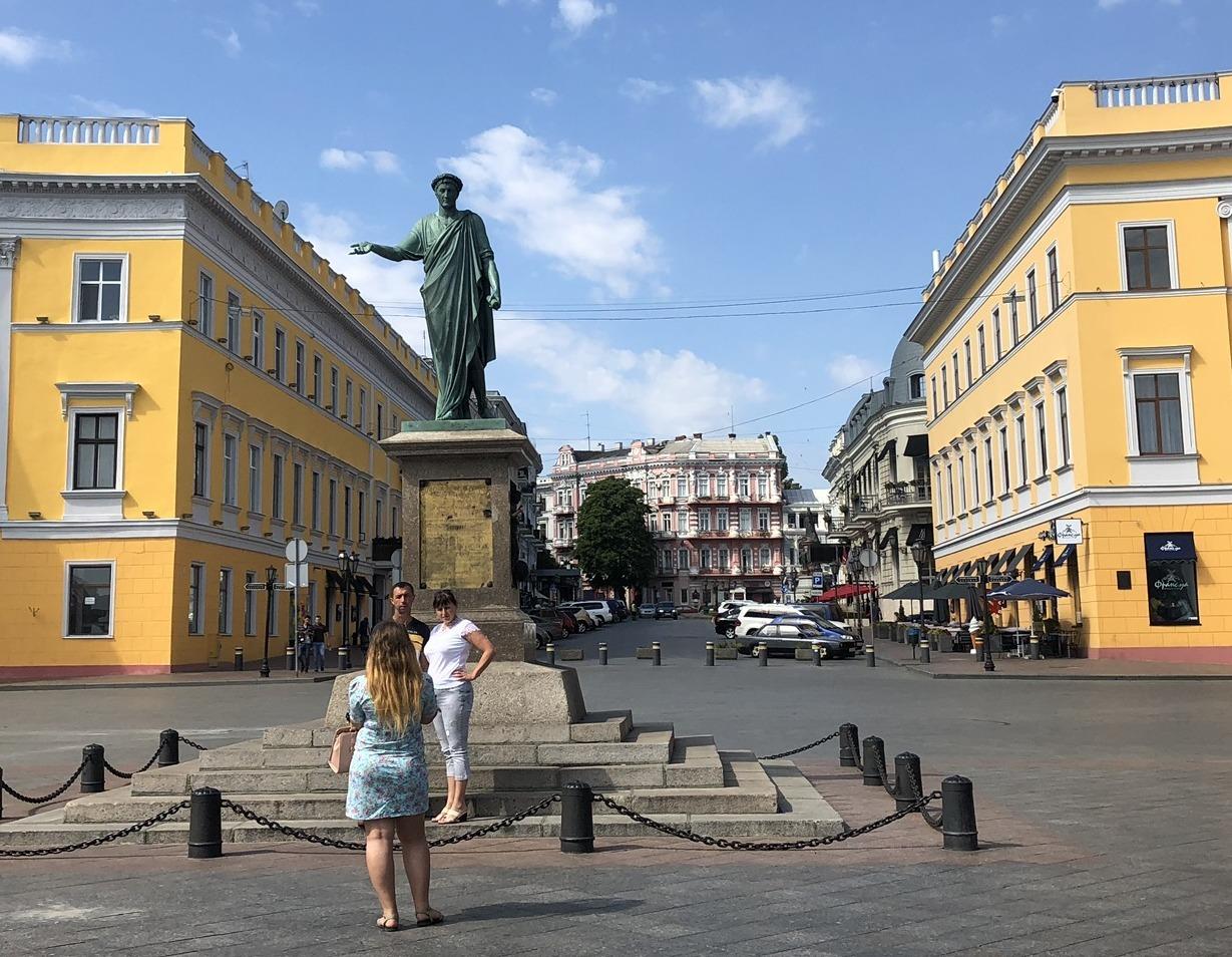 ポチョムキンの階段@オデッサ/ウクライナ_a0092659_17184833.jpg