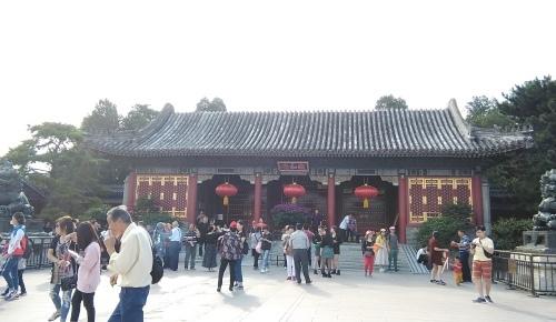 北京旅行2日目 ④ 世界遺産 頤和園散策_f0395164_18483386.jpg