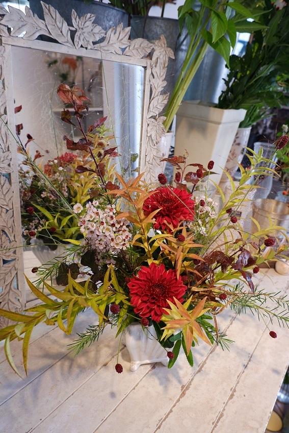 オークリーフ花の教室(山田さんの作品)_f0049672_18542251.jpg