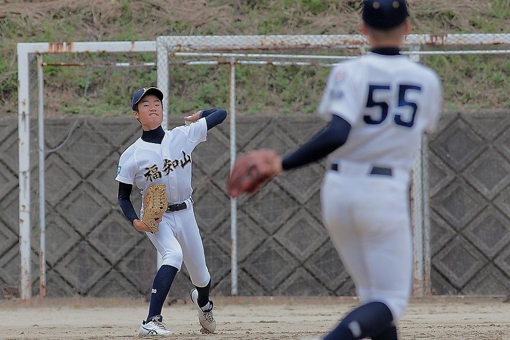 第15回京丹後ボーイズ親善試合 vs朝来ボーイズ1_a0170082_19195711.jpg
