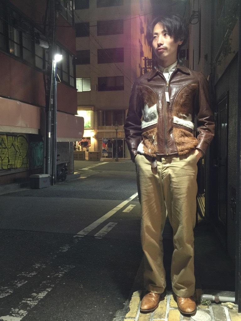 マグネッツ神戸店10/2(水)冬Vintage入荷! #8 Brown Leather Jacket!!!_c0078587_22284305.jpg