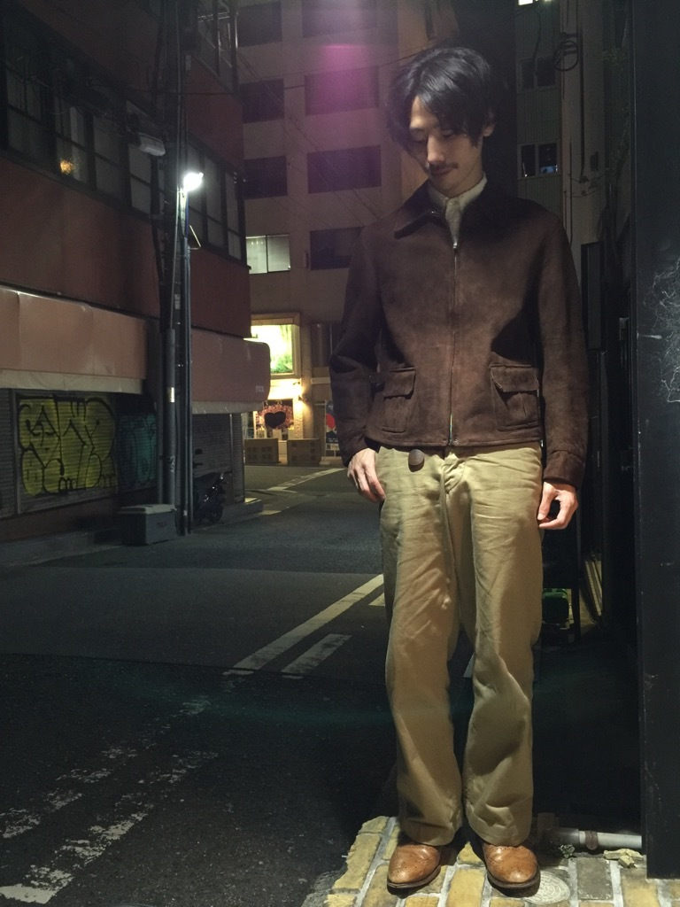 マグネッツ神戸店10/2(水)冬Vintage入荷! #8 Brown Leather Jacket!!!_c0078587_22284380.jpg