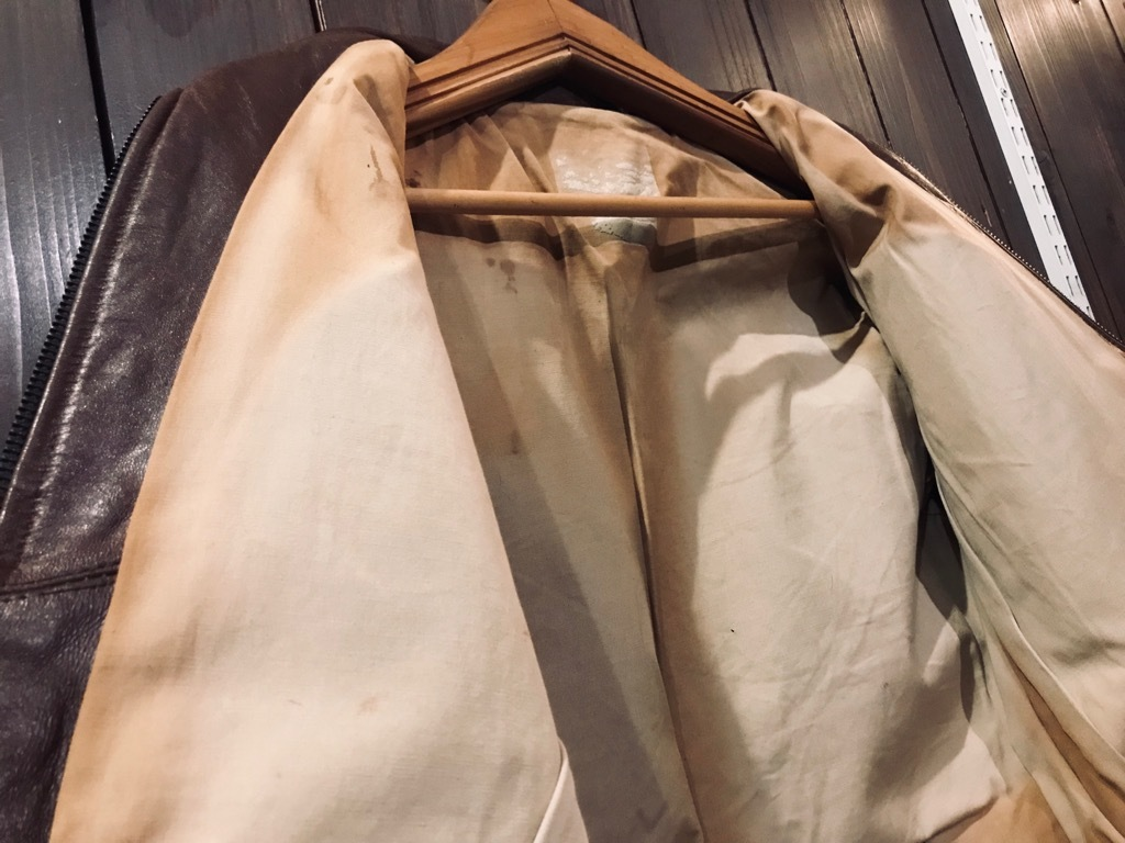 マグネッツ神戸店10/2(水)冬Vintage入荷! #8 Brown Leather Jacket!!!_c0078587_22324009.jpg