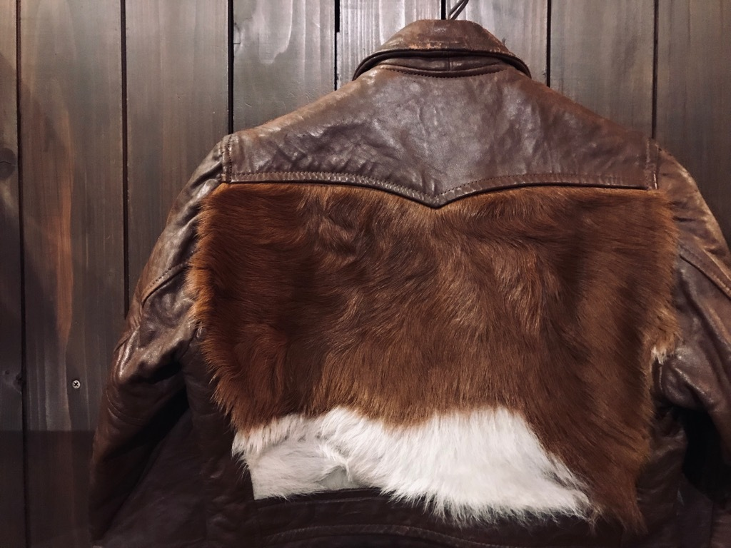 マグネッツ神戸店10/2(水)冬Vintage入荷! #8 Brown Leather Jacket!!!_c0078587_22324058.jpg