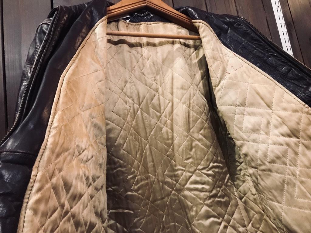 マグネッツ神戸店10/2(水)冬Vintage入荷! #8 Brown Leather Jacket!!!_c0078587_22425069.jpg