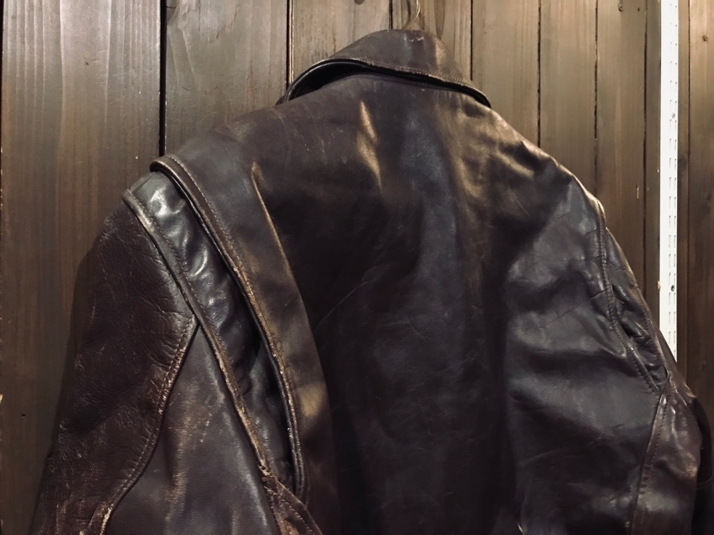 マグネッツ神戸店10/2(水)冬Vintage入荷! #8 Brown Leather Jacket!!!_c0078587_22442619.jpg