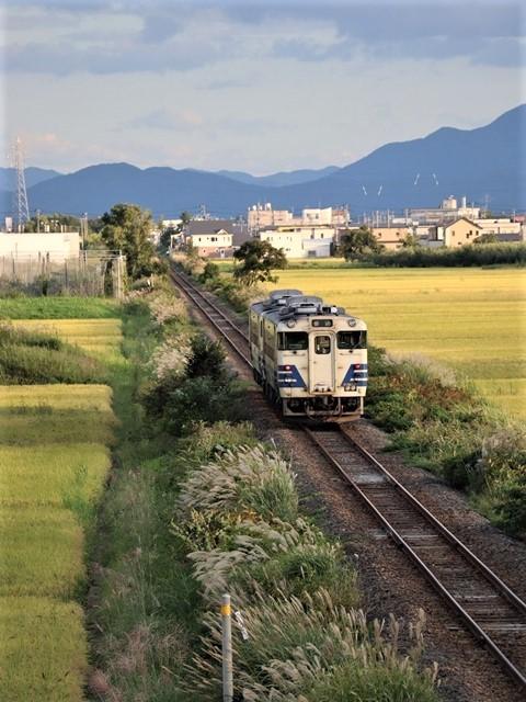 藤田八束の鉄道写真@秋深まる素敵な五能線、ローカル列車から若者たちの声が聞こえてくる_d0181492_22392801.jpg