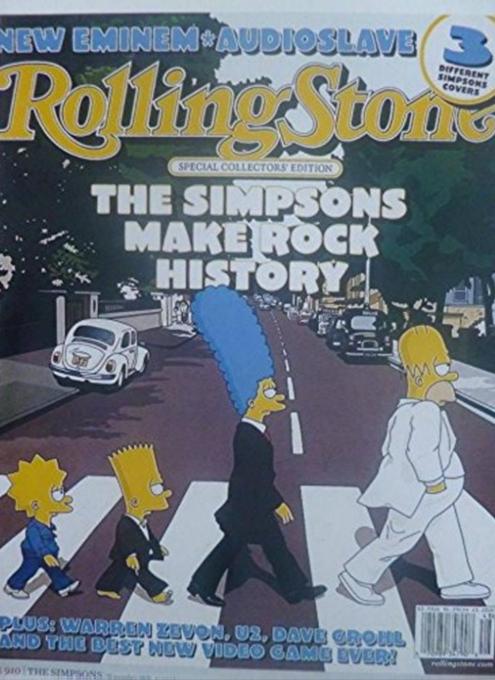 NYの街角で見かけたビートルズ『アビイ・ロード』(Abbey Road)50周年アニバーサリー版のポスター_b0007805_04404628.jpg