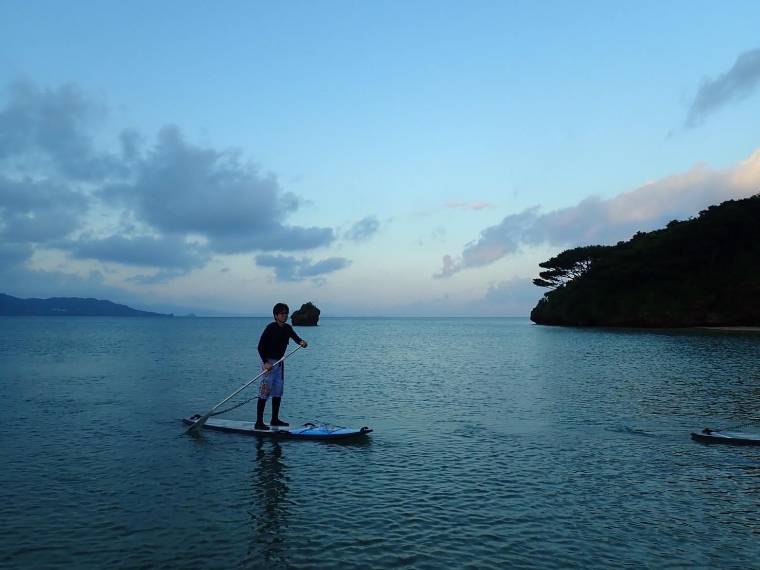 石垣島でサップに挑戦_f0079218_14223112.jpg