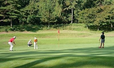 第32回 梶岡建設ジュニアゴルフ月例競技会_f0151251_15580664.jpg